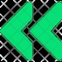 Road Symbol Gps Arrow Left Arrow Icon