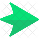 Road Symbols Traffic Symbols Pointing Arrows Icon