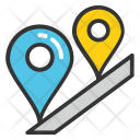Road Tracking Icon