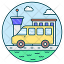Road Trip Summer Vacation Road Travel Icon