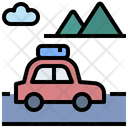 Travel Trip Camping Icon