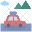 Road Trip Camping Icon
