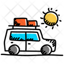 Excursion Road Trip Journey Icon