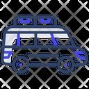 Road Trip Tour Automobile Icon