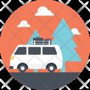 Trip Road Passengers Icon