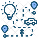 Road Plan Idea Icon