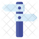 Guidepost Signpost Direction Post Icon