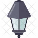 Road Lamps Side Icon