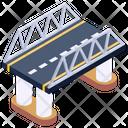 Roadway Bridge Icon