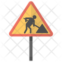 Roadworks Sign Icon