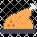 Drumstick Chicken Piece Roast Icon