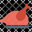 Roast Chicken Turkey Icon