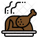 Roast Chicken Icon