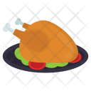 Roast Chicken Backed Icon