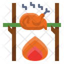 Chicken Food Barbecue Icon