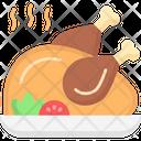 Roast Chicken Roasted Chicken Drumstick Icon