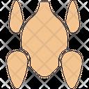 Roasted Chicken Broasted Chicken Chicken Icon