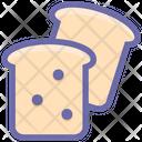 Bread Bakery Breakfast Icon
