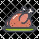 Roasted Chicken Grilled Chicken Chicken Roast Icon