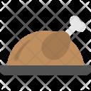Roast Chicken Grilled Icon