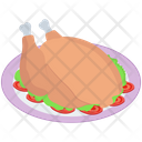 Roasted Chicken Platter Icon
