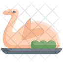 Roasted Duck Chicken Icon