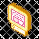 Roasting Chamber Isometric Icon