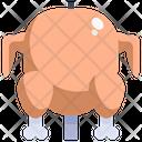 Roasting chicken Icon