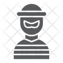 Robber Burglar Criminal Icon
