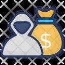 Robber Burglar Thief Icon