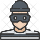 Robber Avatar Policing Icon