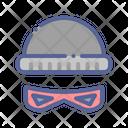 Burglar Beanie Thief Icon