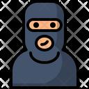 Avatar Crime Male Icon