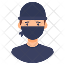 Robber Thief Bandit Icon