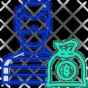 Robber Thief Criminal Icon