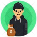Thief Robber Criminal Icon
