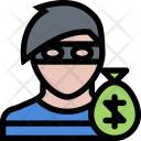 Robber Law Crime Icon