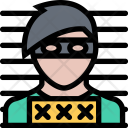 Robber Photo Law Icon