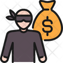 Robbery Insurance Security Icon