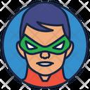 Robbin Warrior Superhero Icon