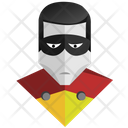 Robin Face Mask Icon