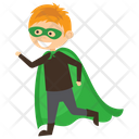 Robin Superhero Icon