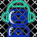 Robo Assistance Ai Assistant Icon