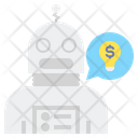 Robo Advisor Advisor Idea Icon