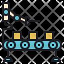 Robot Packing Manufacturing Icon