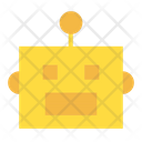 Artificial Intelligence Robot Icon