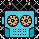 Robot Robotics Head Icon