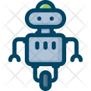Robot Technology Science Icon