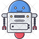 Robot Space Star Icon