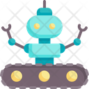 Android Robot Cyborg Icon